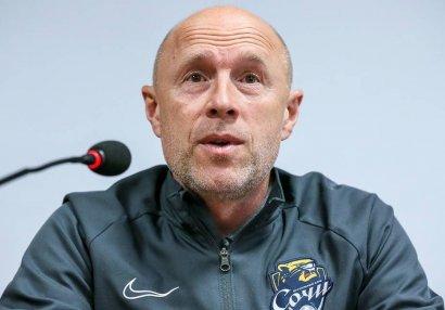 Главный тренер «Сочи»: «У нас есть проблемы»