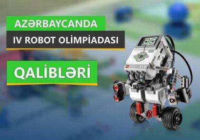 Azərbaycanda IV Robot Olimpiadasının finalı baş tutdu