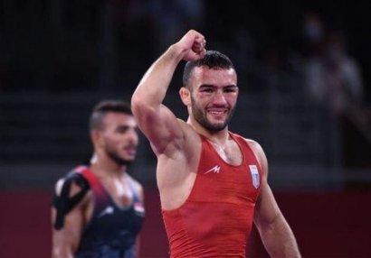 Azərbaycanlı güləşçi Olimpiadada gümüş medal qazandı