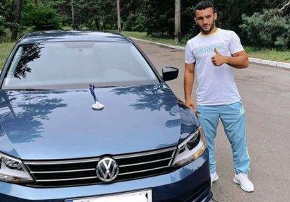 Pərviz Nəsibova Ukraynada avtomobil bağışlandı - FOTOLAR