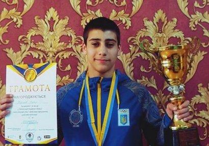 Azərbaycanlı Ukraynaya qızıl medal qazandırdı - FOTOLAR
