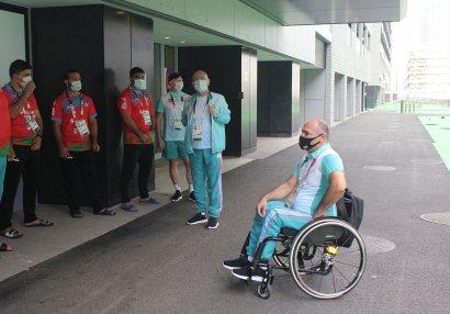 Ильгар Рагимов посетил Деревню атлетов в Токио
