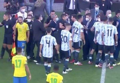 Braziliya - Argentina matçı yarımçıq dayandırıldı - SƏBƏB