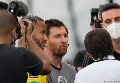 Messi Braziliya hökumətinə etiraz etdi