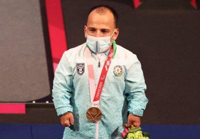 Paralimpiya mükafatçısı: