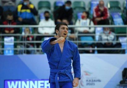 MDB Oyunları: Samboçumuz qızıl medal qazandı