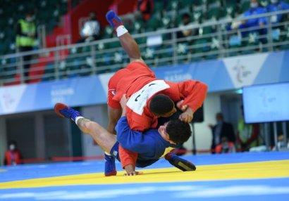 MDB Oyunları: Azərbaycan samboçularından 3-cü qızıl medal