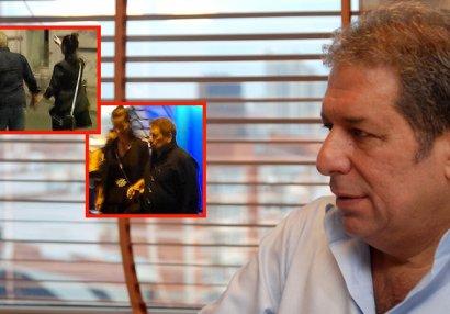 72 yaşlı məşhur gənc sevgilisi ilə əl-ələ görüntüləndi - FOTOLAR