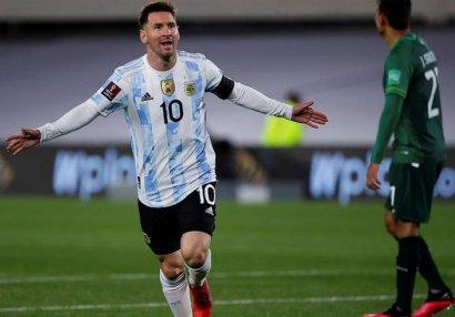 Messi het-trik etdi, Pelenin rekordunu yenilədi - VİDEO
