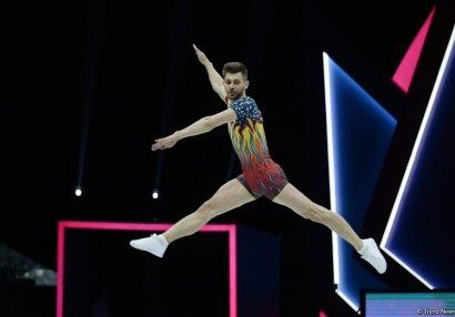 Avropa çempionatına üç gimnastla