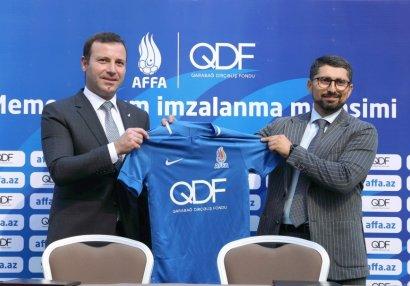Qarabağ Dirçəliş Fondu və AFFA arasında Memorandum imzalandı