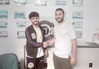 Azərbaycanlı futbolçu Yunanıstan klubuna keçdi