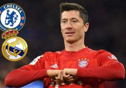 Transfer şayiələri:Levandovski hansı klubu seçəcək?