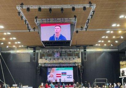 Gimnastımız Macarıstanda qalib oldu