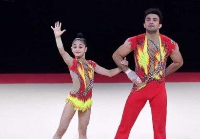 Akrobatlarımız İtaliyada 3 medal qazandı