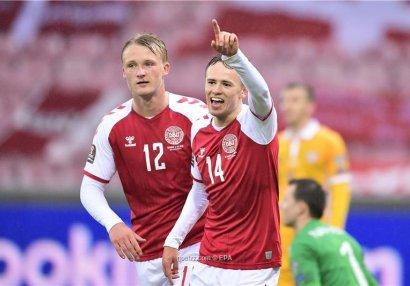 Danimarka inanılmaz nəticə ilə mundialda! - 27:0