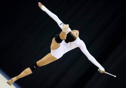 Gimnastlarımız dünya çempionatına hazırlaşır - FOTOLAR
