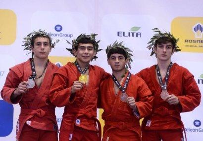 DÇ: İki samboçumuz medal qazandı