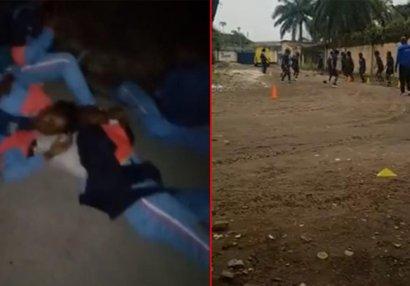 Pula görə oteldən qovulan yığmanın futbolçuları küçədə yatdı - FOTO