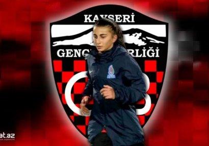 Qadın futbolçumuz Türkiyədə klubunu dəyişdi