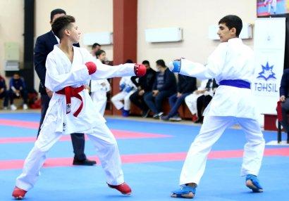 Юный каратист Рафаэль Зейналов в третий раз выиграл первенство Республики!