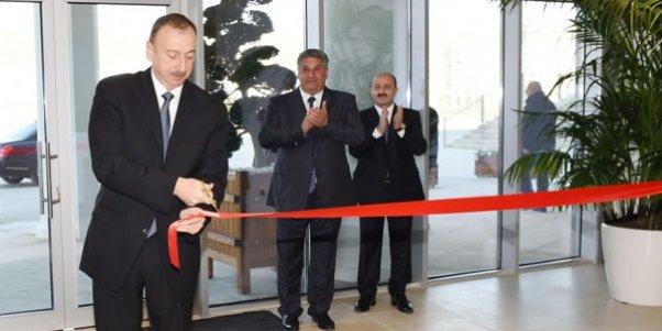 Prezident Olimpiya Kompleksinin açılışını etdi