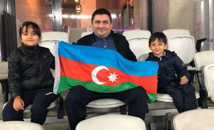 Altay Əliyev və ailəsi fonda 3000 manat ianə köçürdü