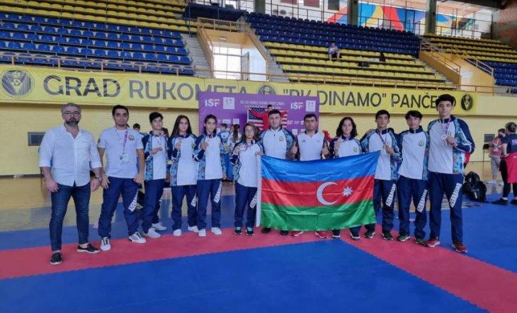 Еще девять медалей Азербайджана на Всемирных Играх